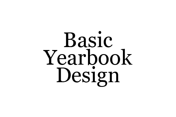 Basic Yearbook Design