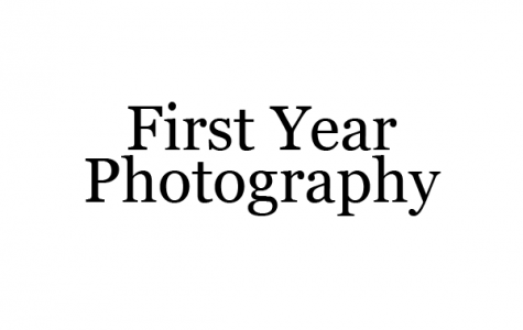 First Year Photography