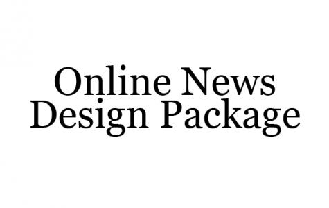 Online News Design Package
