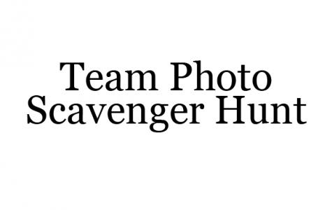Team Photo Scavenger Hunt