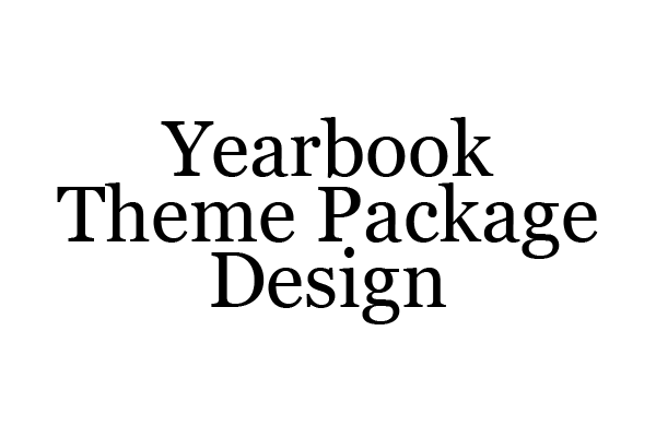 Yearbook Theme Package
