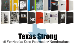 18 Texas Yearbooks Earn Pacemaker Nominations