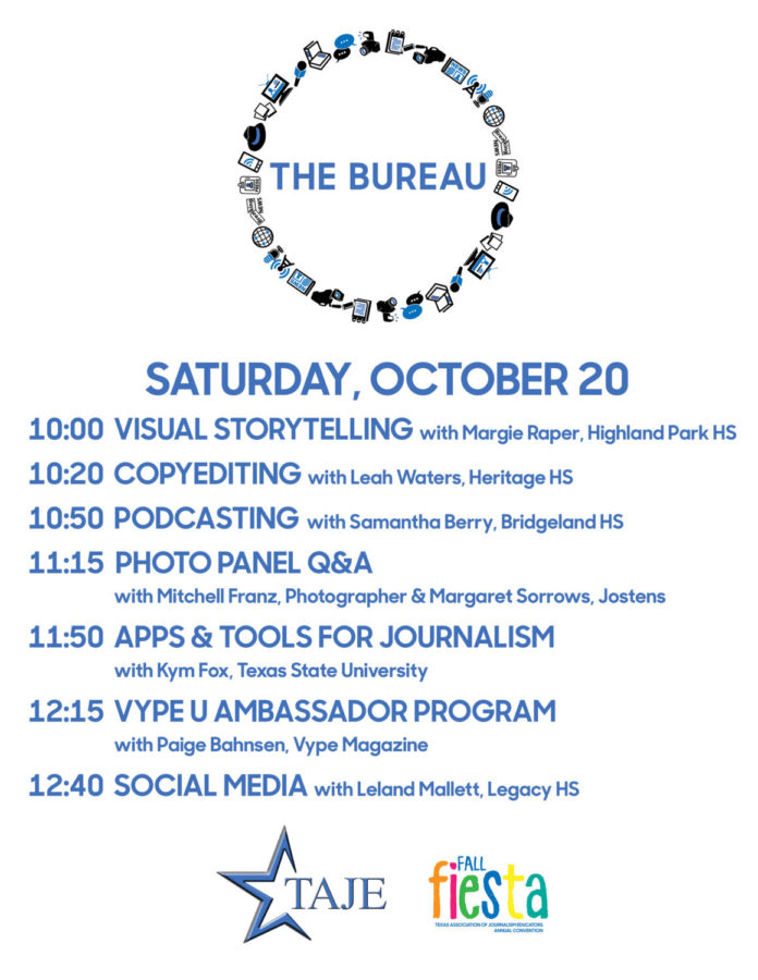 The Bureau Schedule (Saturday)