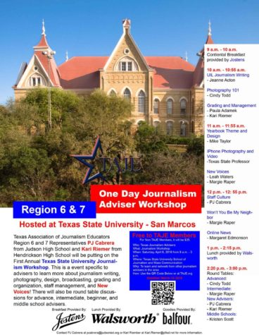 TAJE Region Workshop: East Texas Oct. 10