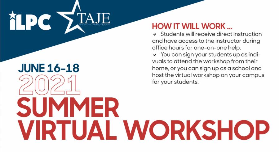 IPLC%2FTAJE+Virtual+Summer+Workshop